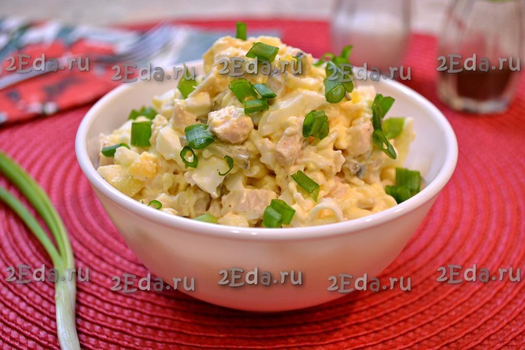 что приготовить из курицы и яиц