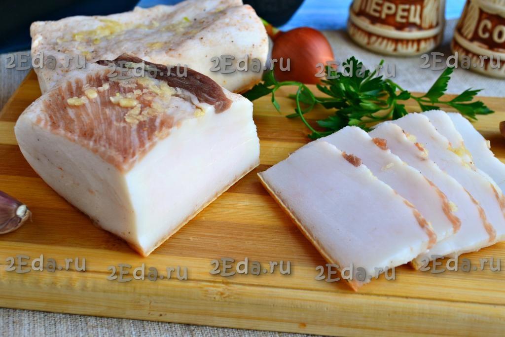 рецепты сало соленого с фото