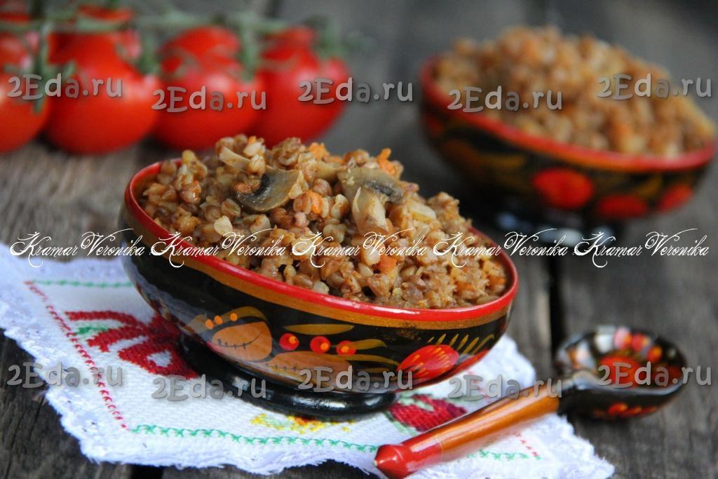 гречка с грибами быстрого приготовления