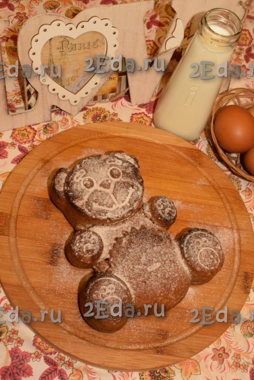 кекс из какао в духовке