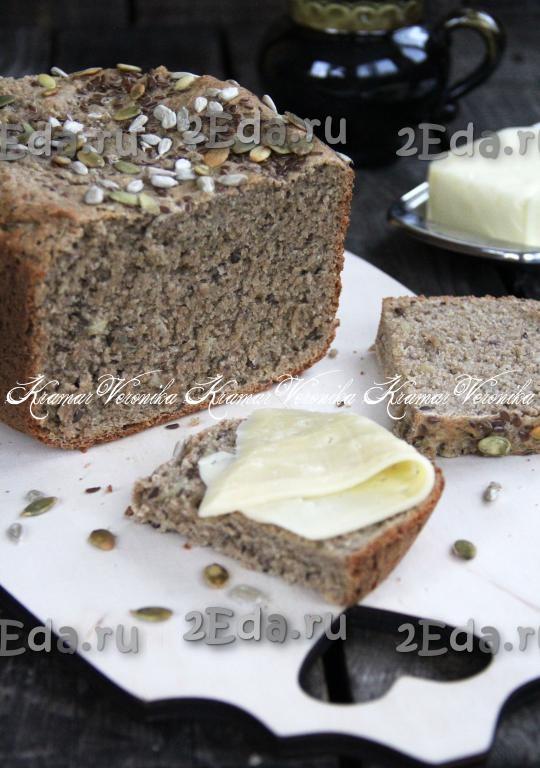 Хлеб в хлебопечке с семечками подсолнуха 4