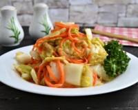 Капуста по корейски из пекинской капусты