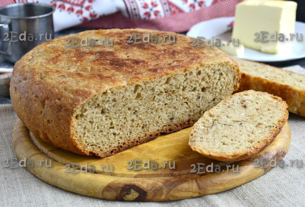 Бородинский хлеб в мультиварке – кулинарный рецепт | 697x1024