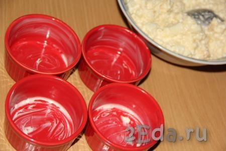 Запеченная пшенная каша с творогом - рецепт пошаговый с фото
