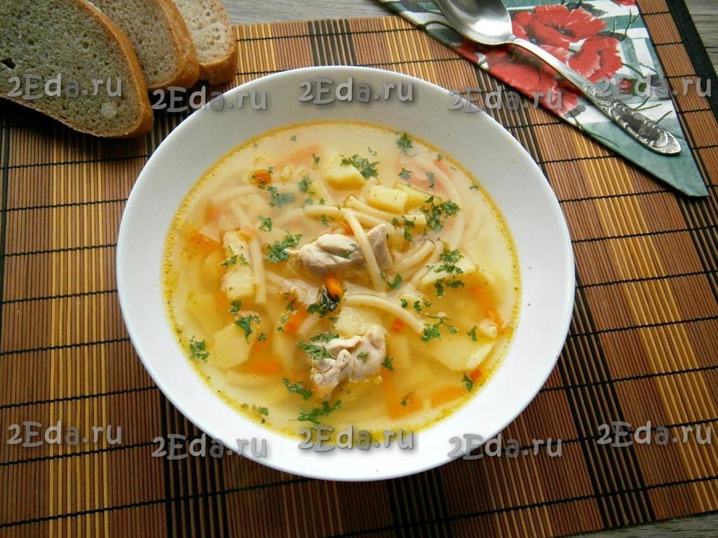 Как правильно варить суп с макаронами 8